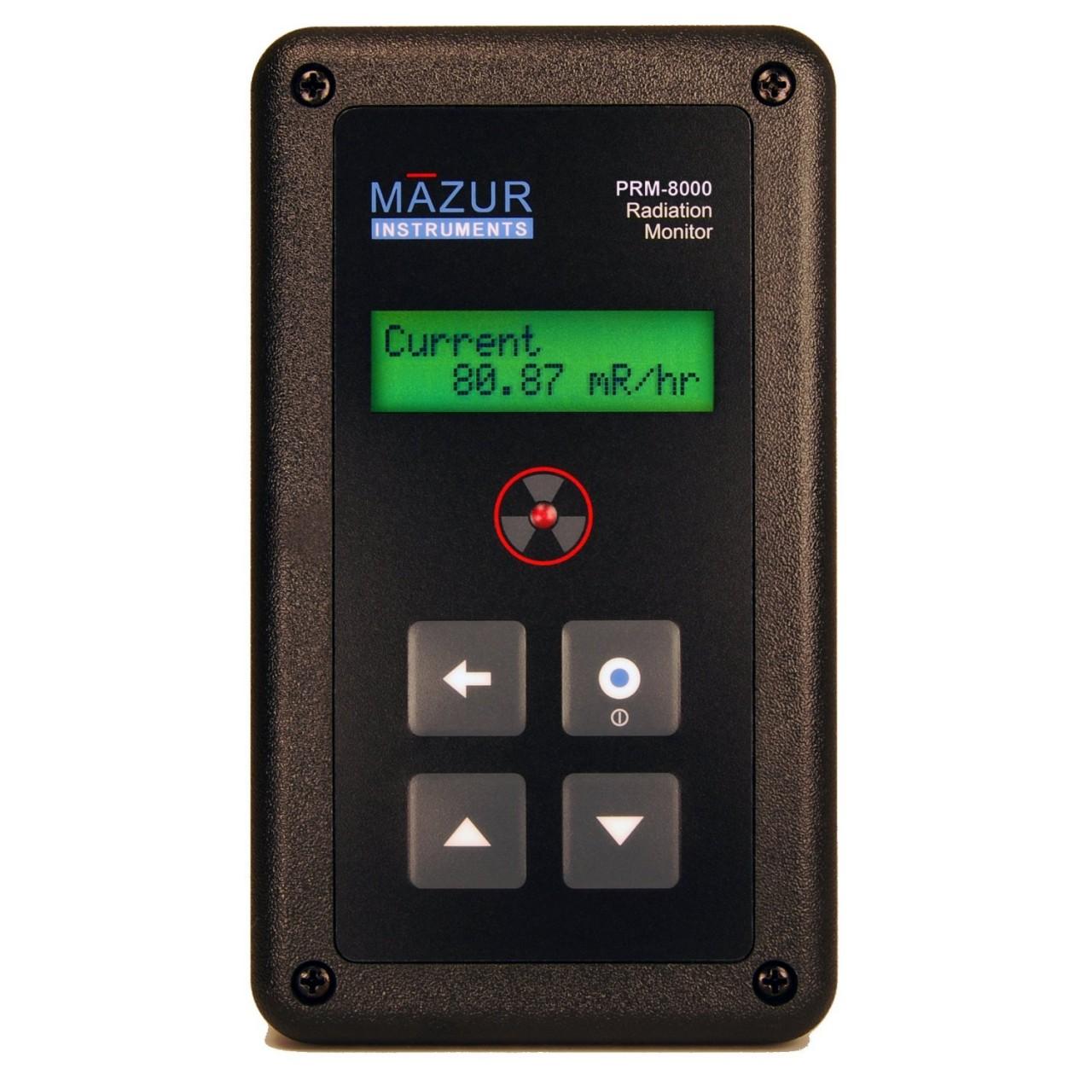 Digital Geiger Counter : Mazur prm nuclear radiation monitor